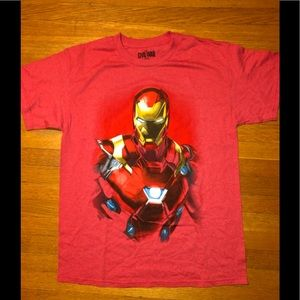 Marvel Ironman T-Shirt Size Large (New w/o Tags)